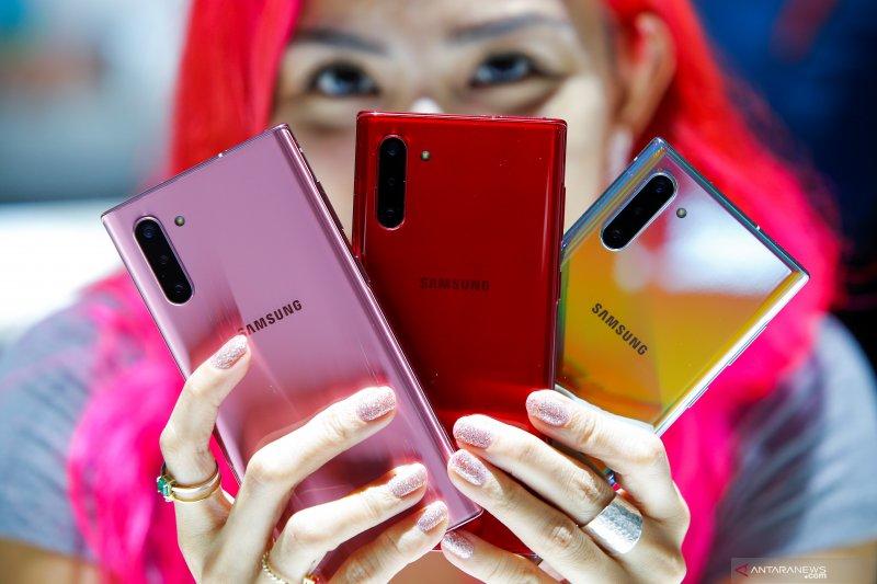 Samsung launching Galaxy Note 10 dan Note 10+