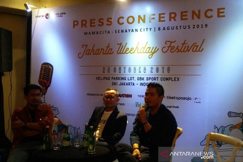 Weekday Festival, Bams bersama dua musisi internasional di Jakarta