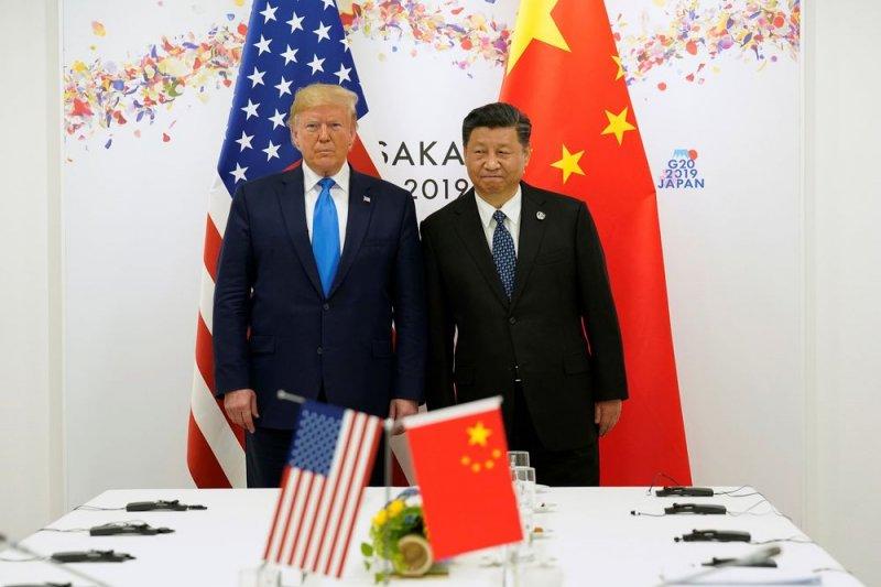 Trump:  China 'bunuh kita dengan perdagangan tidak adil'