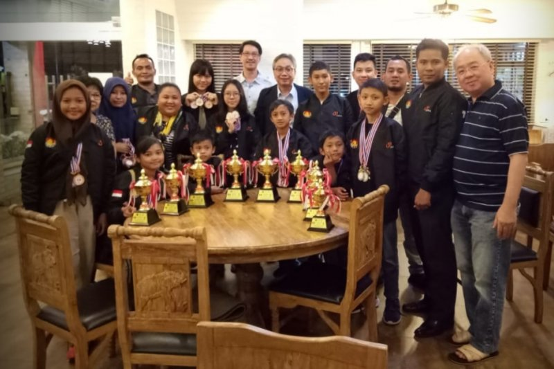 Pecatur lndonesia bawa pulang tujuh emas dari Kejuaraan Bangkok