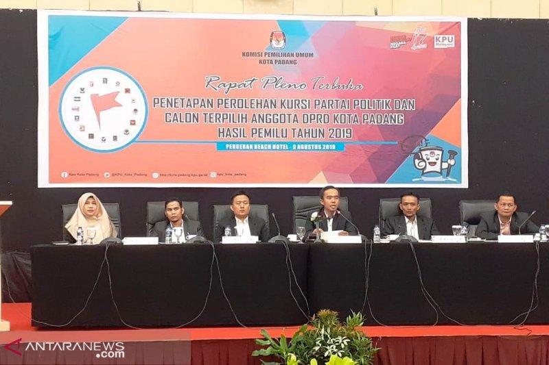 Ini daftar 45 anggota DPRD Padang