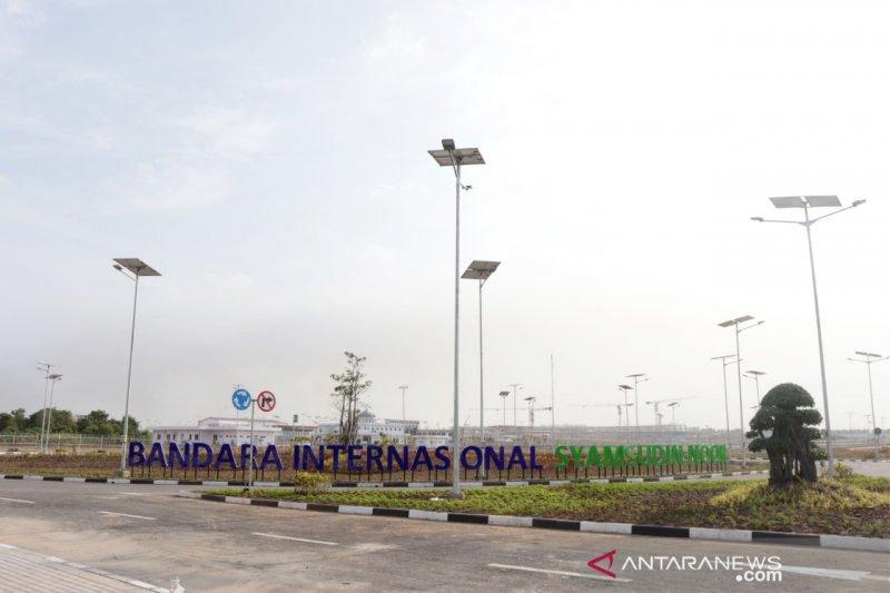 Bandara Syamsudin Noor berbentuk Kelotok dan Berlian