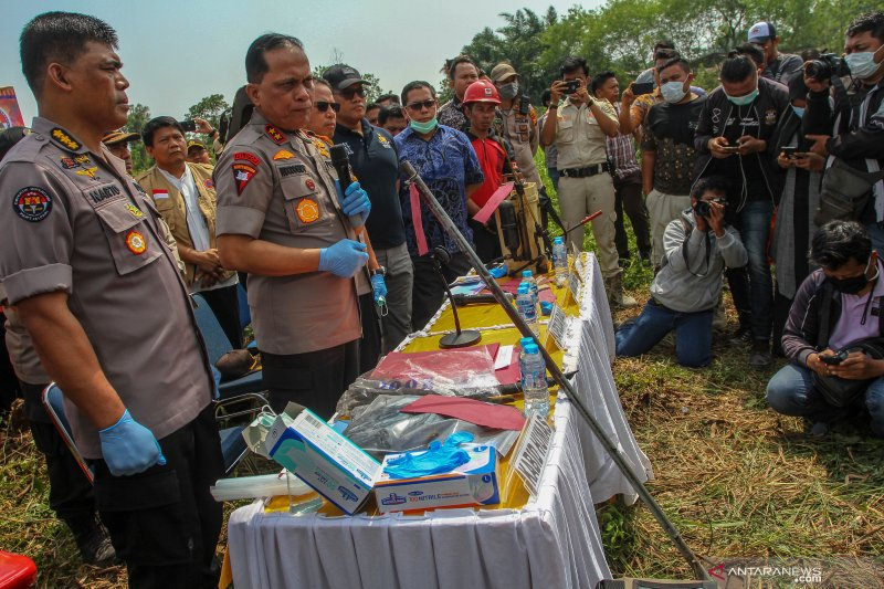 Polda Riau bidik tiga perusahaan sebagai tersangka Karhutla