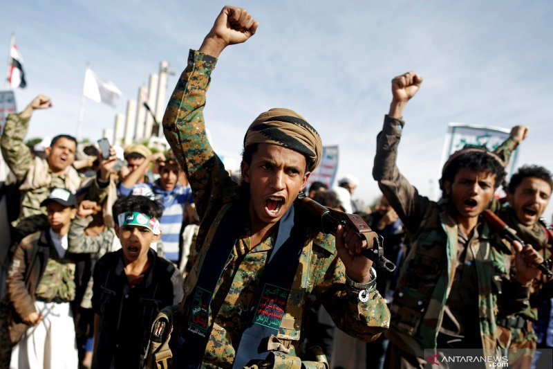 Al Houthi Yaman usul ke Arab Saudi untuk saling hentikan serangan
