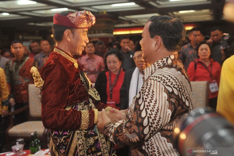 Disebut-sebut Prabowo tawarkan konsep koalisi Jokowi-Ma'ruf, ini tanggapan Gerindra