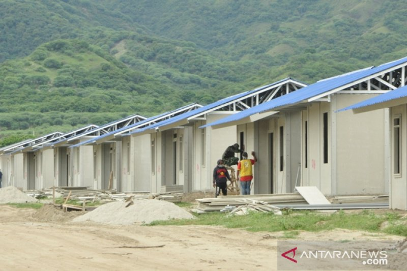 Pasca bencana permintaan bahan bangunan di Palu meningkat