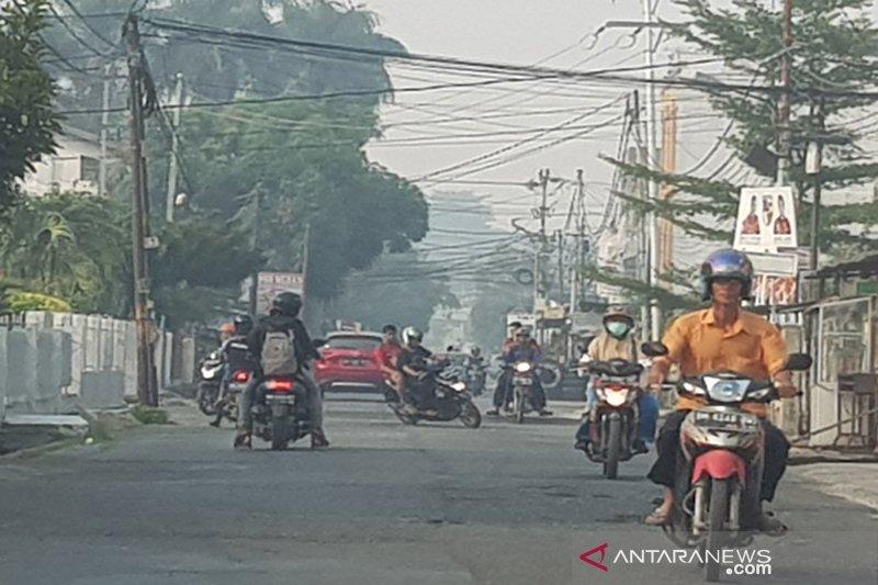 Awas...Asap Karhutla 'kepung' Pekanbaru, kualitas udara tidak sehat