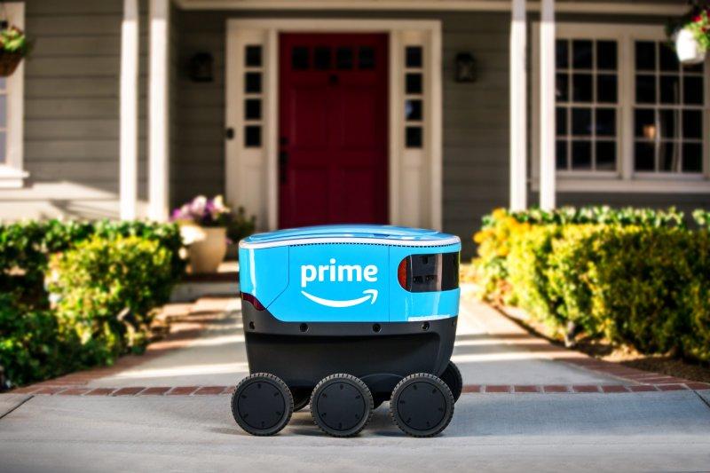Amazon layani pengiriman barang gunakan robot Scout