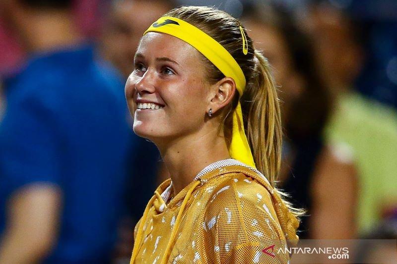 Marie Bouzkova melaju di Toronto setelah juara Wimbledon Halep mundur