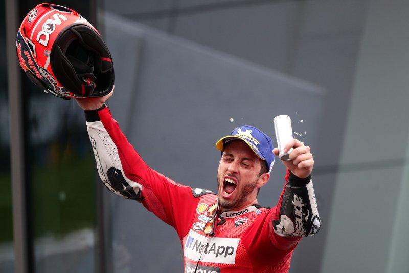 Dovizioso jelaskan kunci kemenangan atas Marquez di Austria