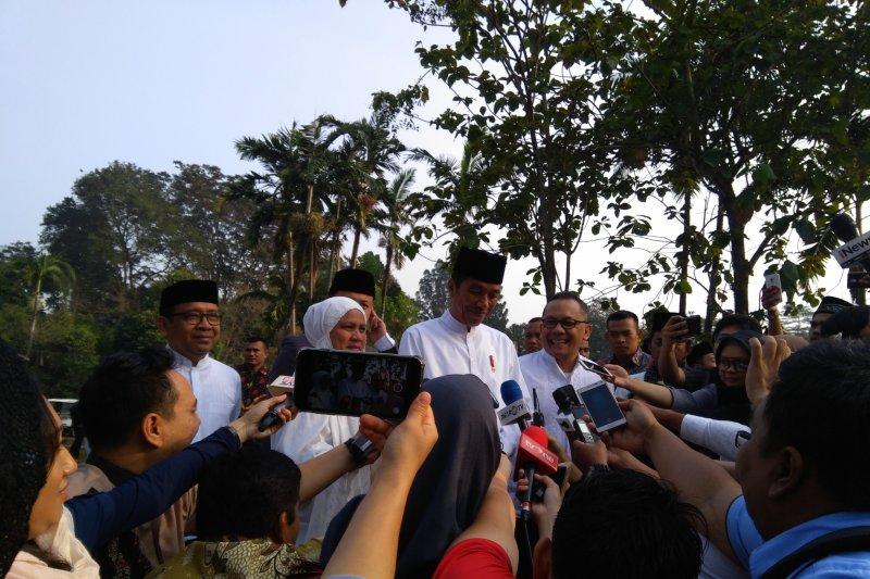 Presiden Jokowi: Lebaran Besar untuk dorongan melakukan kesalehan sosial