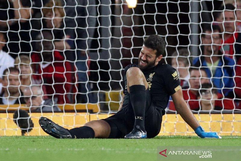 Alisson tak dimainkan Liverpool