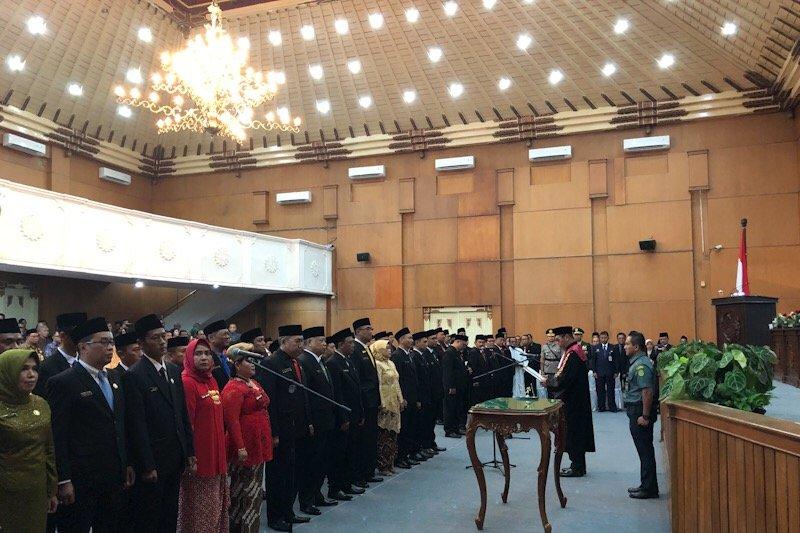 Pembentukan fraksi menjadi agenda pertama DPRD Yogyakarta usai pelantikan