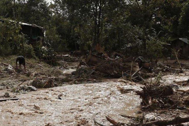 53 tewas akibat tanah longsor di Myanmar