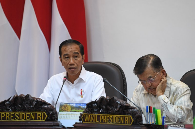 """Jokowi arahkan minyak sawit diolah jadi """"green avtur"""""""