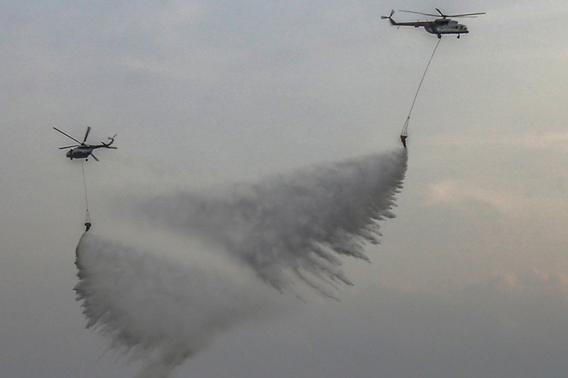 BNPB: Kualitas udara Riau membaik meski masih ada titik panas