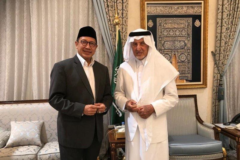 Bahas renovasi Mina, Menteri Agama temui Gubernur Mekkah
