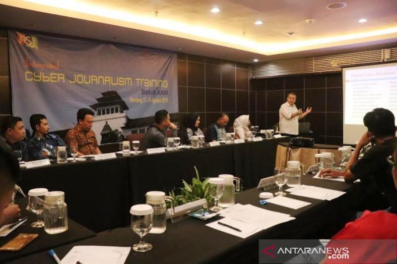 17 humas dari berbagai institusi ikuti pelatihan jurnalistik LPJA di Bandung