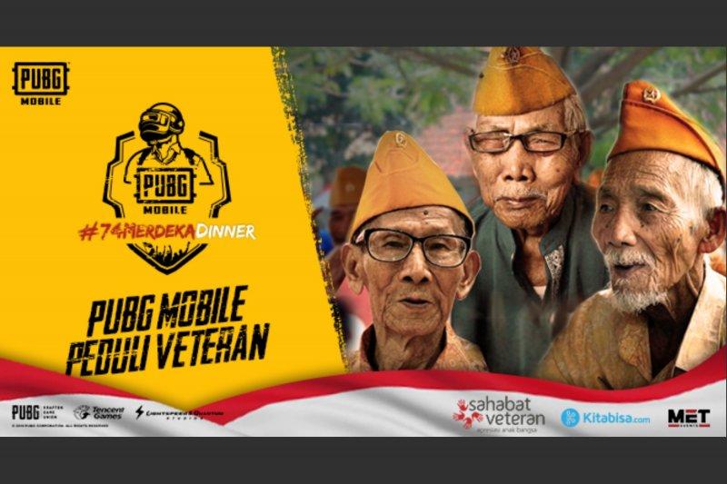 """Galang dana bagi veteran Indonesia melalui """"PUBG Mobile 74 Merdeka Dinner"""""""
