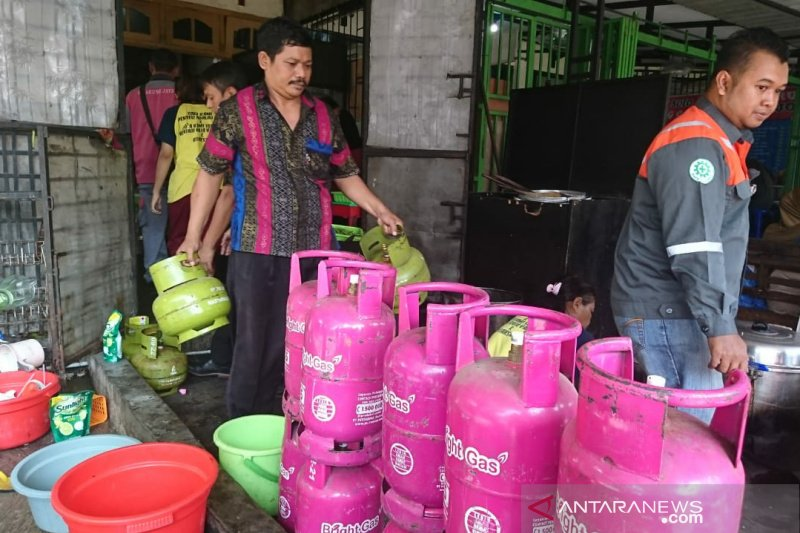 Pertamina menemukan puluhan elpiji subsidi salah sasaran
