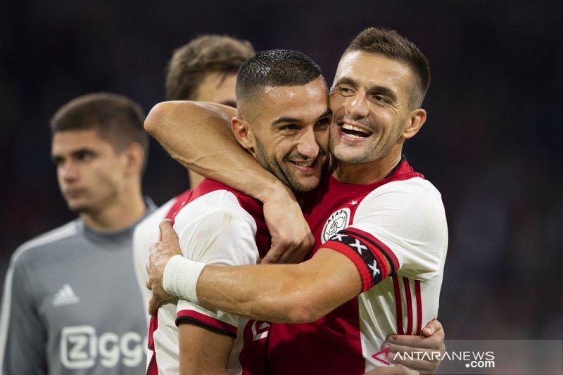 Ajax tundukkan PAOK 3-2 lolos playoff Liga Champions