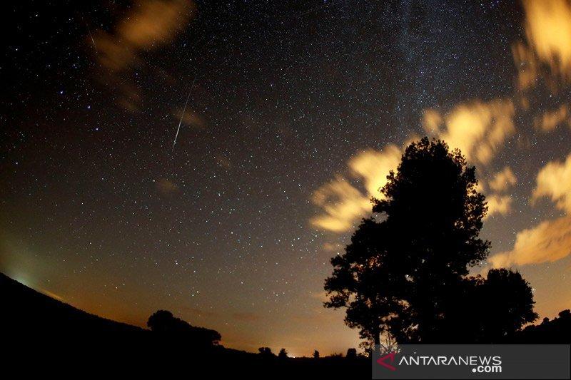 Peneliti sebut hujan meteor Perseid terjadi pada 17 Juli-24 Agustus