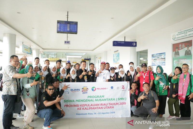 Peserta program SMN 2019 Kepulauan Riau tiba di Tarakan