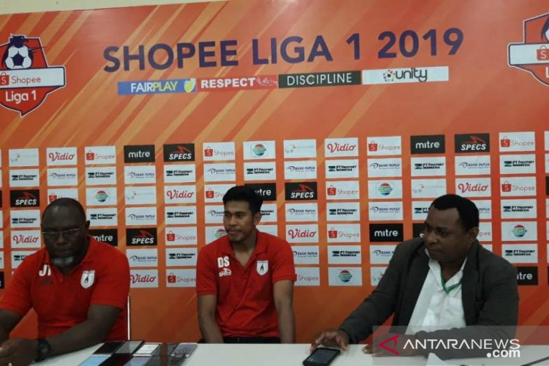 Liga 1 -- Persipura Jayapura kalahkan Kalteng Putra 2-0