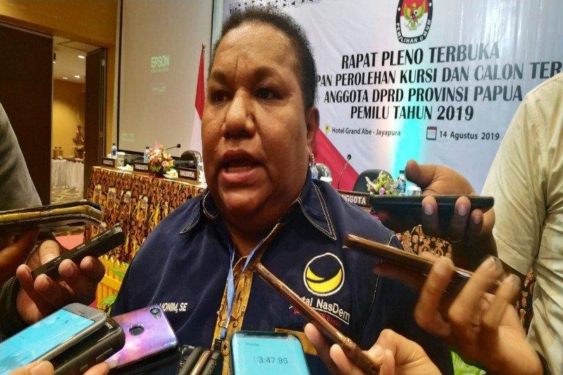 Herlin Monim: Siap emban amanat partai Nasdem sebagai Ketua DPRP