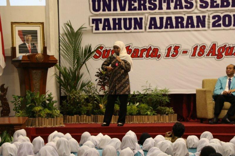 Khofifah Indar Parawansa ajak generasi muda hadir untuk negara