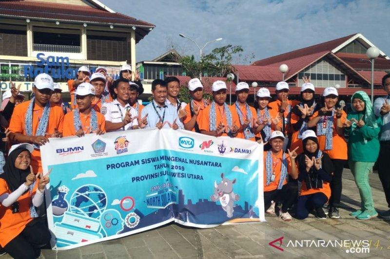 WIKA Jemput Peserta SMN 2019 Asal Semarang di Manado