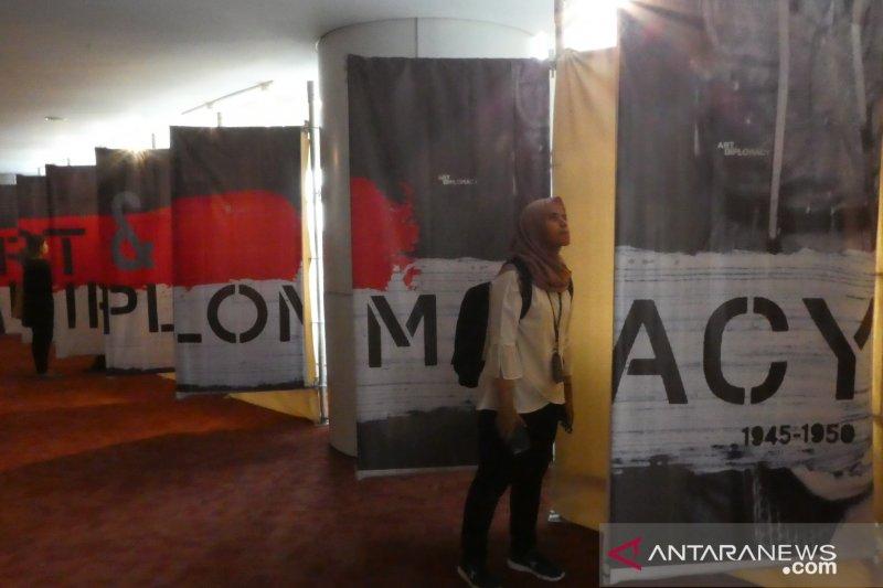Kemendikbud, GFJA dan Perpusnas gelar pameran 'Art and Diplomacy'