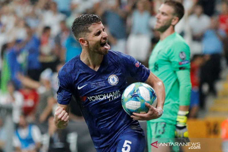 Juventus belum lakukan pendekatan ke pemain Chelsea Jorginho