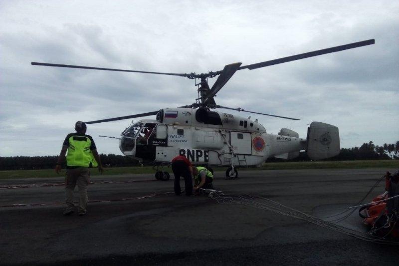 BNPB kirim helikopter dari Aceh padamkan karhutla di Riau