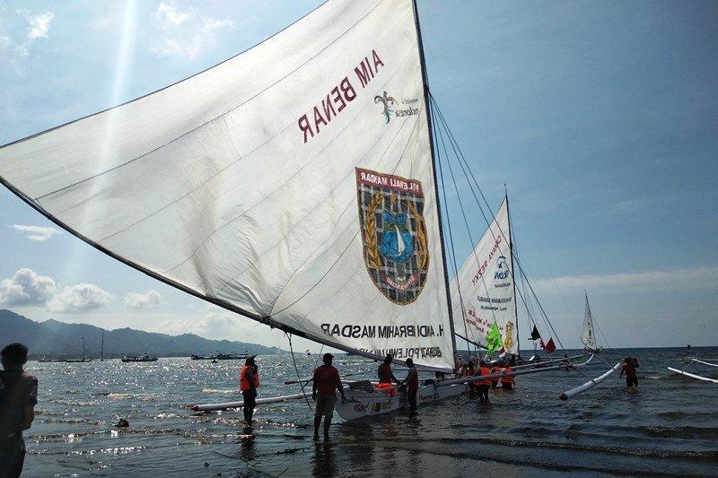 Pemkab Mamuju  sambut peserta Sandeq Race