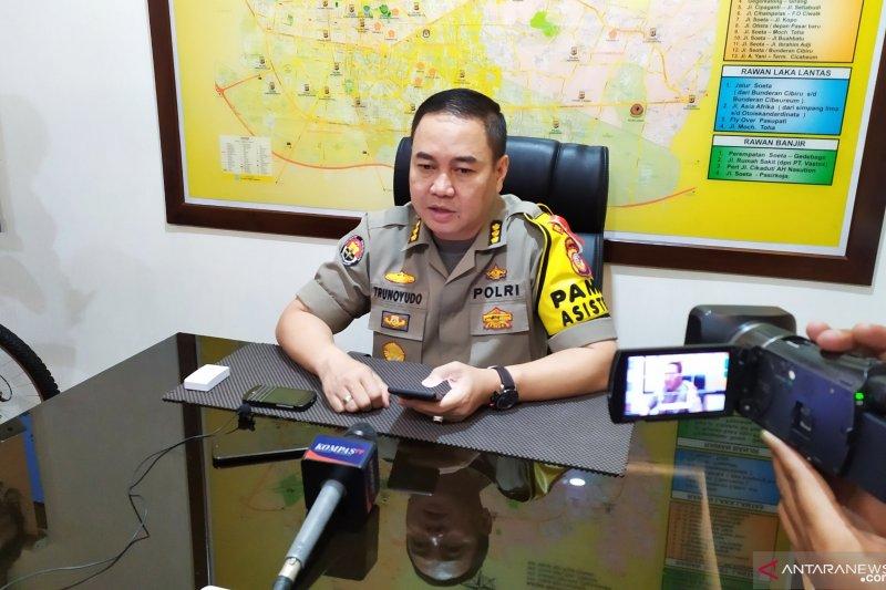 Kepolisian tetapkan satu tersangka penyebab kejadian polisi terbakar di Cianjur