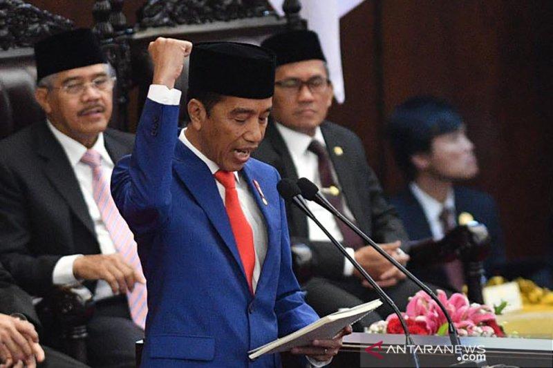 Presiden: butuh SDM yang berhati Indonesia dan berideologi Pancasila
