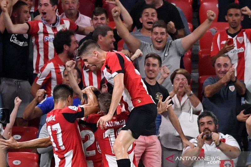 Pada laga pembuka, Barcelona tersungkur di kandang Bilbao