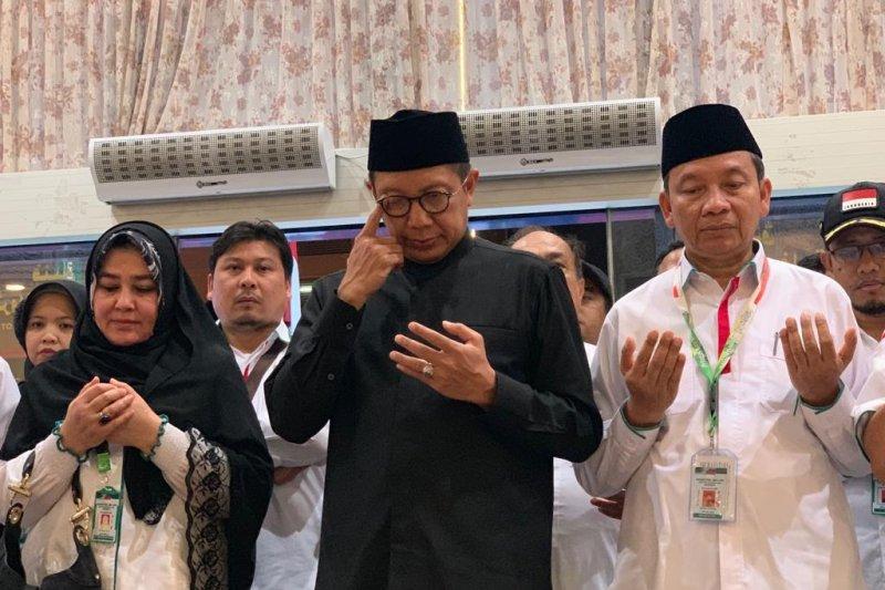 Amirul Hajj meminta maaf ketika lepas kepulangan kloter pertama