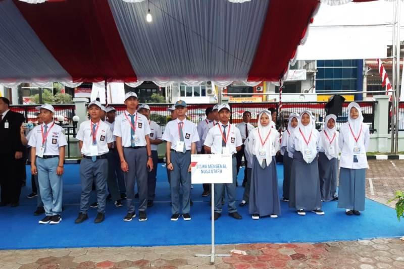 Peserta SMN Sulsel ikut upacara HUT Kemerdekaan RI di Papua