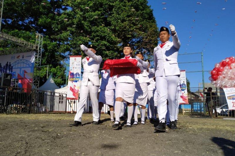 BUMN Gelar Upacara Kemerdekaan RI ke-74 di Manado