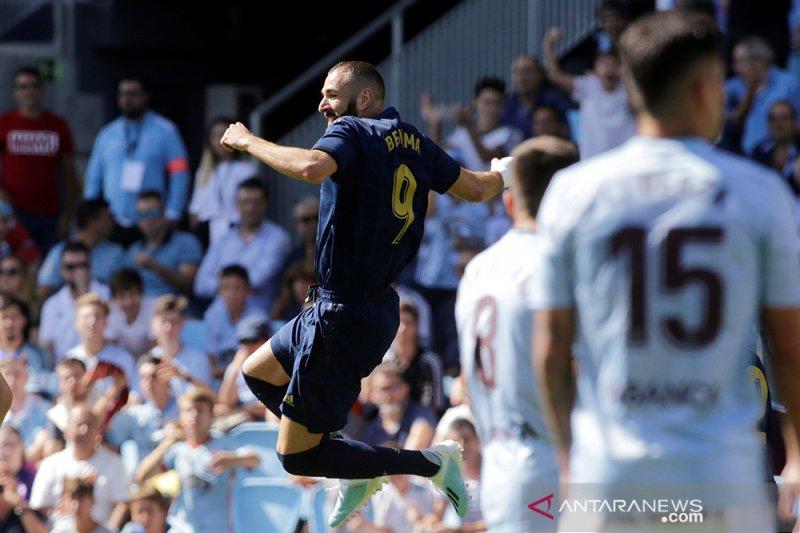 Garet Bale dimainkan, Madrid buka musim dengan kemenangan