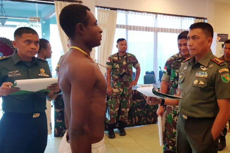 38 putra Papua lulus seleksi tahap I penerimaan Caba 2019