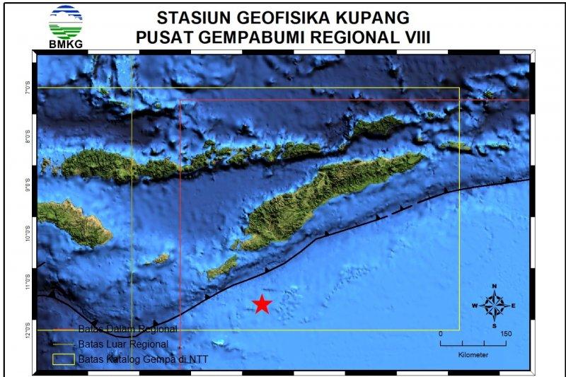 Rote Ndao diguncang gempa 5.1 SR