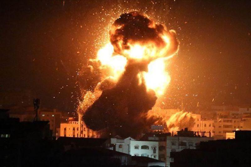 Israel bombardir ke Jalur Gaza