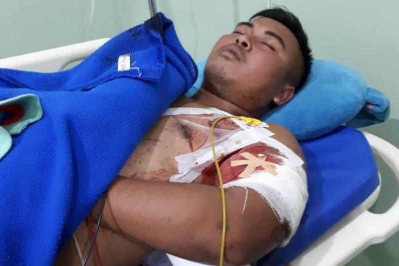 Jenazah Pratu Sirwandi dievakuasi ke kampung halamannnya
