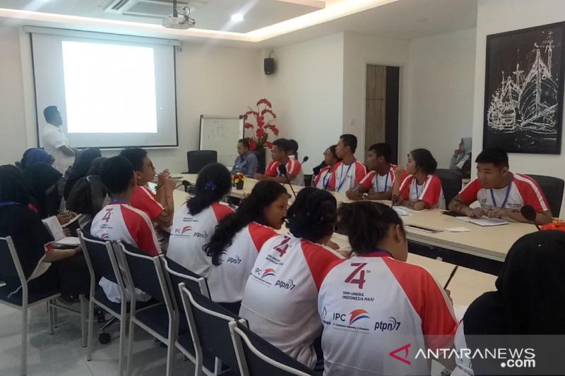 Peserta SMN  pelajari konvergensi media dari LKBN Antara