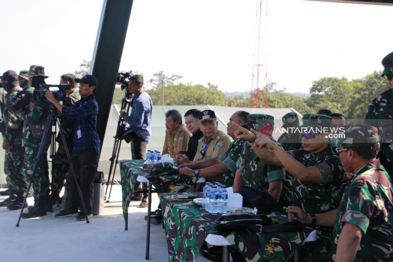 Bupati OKU hadiri puncak latihan tempur  antarkecabangan TNI AD