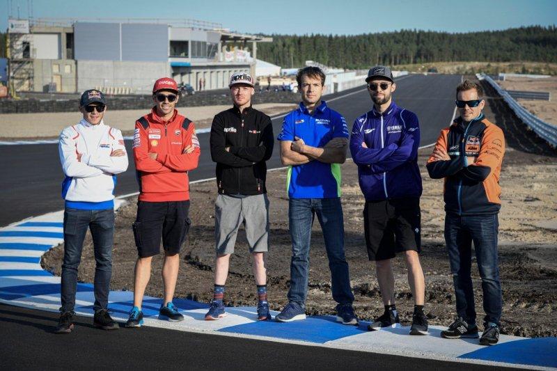 MotoGP gelar uji coba Sirkuit KymiRing, sirkuit di Finlandia