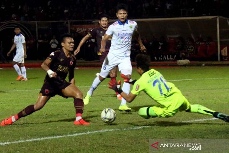 PSM Makassar menang 3-1 atas Persib Bandung